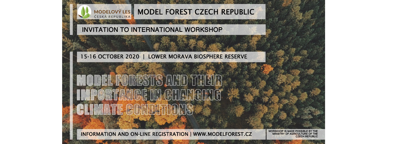 "SAVE THE DATE | International Workshop ""Model Forests and their Importance in Changing Climate Conditions"""